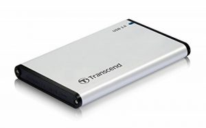 Transcend TS0GSJ25S3 Boîtier pour Disque Dur Gris de la marque image 0 produit