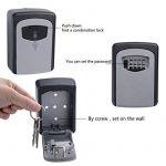 Ttrwin® Boîte pour clés Serrure à clé Box Clé Keeper Combinaison Code à fixation murale pour clés de stockage pour une utilisation en intérieur et en extérieur de la marque image 3 produit