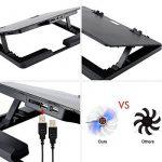 Votre comparatif de : Support ventilé pour ordinateur portable 15 pouces TOP 2 image 4 produit