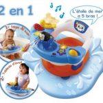 Vtech enfants–aquasilla, chaise de bain pour jouer dans la baignoire de la marque image 1 produit