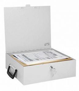 Wedo 1021637 Coffre à document/classeur A4 Gris lumière de la marque image 0 produit