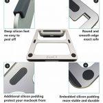 """ZenCT Support ordinateur portable, Support ergonomique en aluminium pour 11""""-14"""" Apple MacBook et autres ordinateurs portables de la marque image 1 produit"""