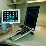 """ZenCT Support ordinateur portable, Support ergonomique en aluminium pour 11""""-14"""" Apple MacBook et autres ordinateurs portables de la marque image 3 produit"""