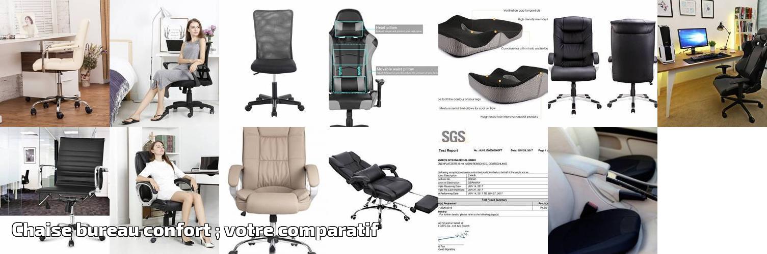 Chaise Confort Votre Pour 2019Meubles Bureau Comparatif De ; srQChxtd